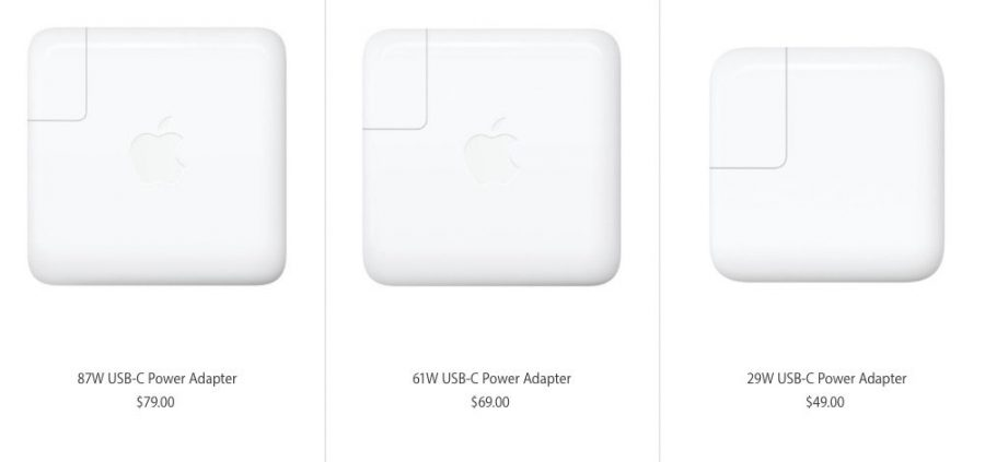 Apple USB-C wall charger