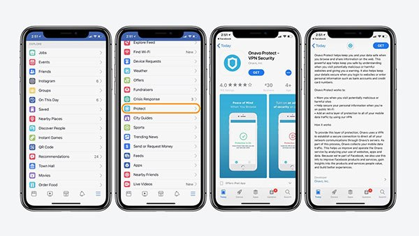 Facebook.app - Onavo Protect – VPN Security