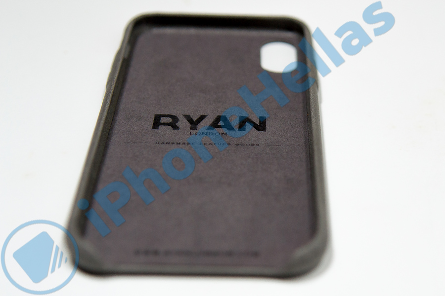 Ryan London Leather Shell Case for iPhone X