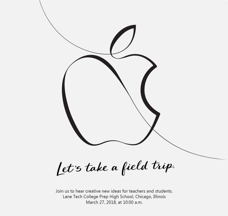 Είναι επίσημο: Apple event στις 27 Μαρτίου 2018