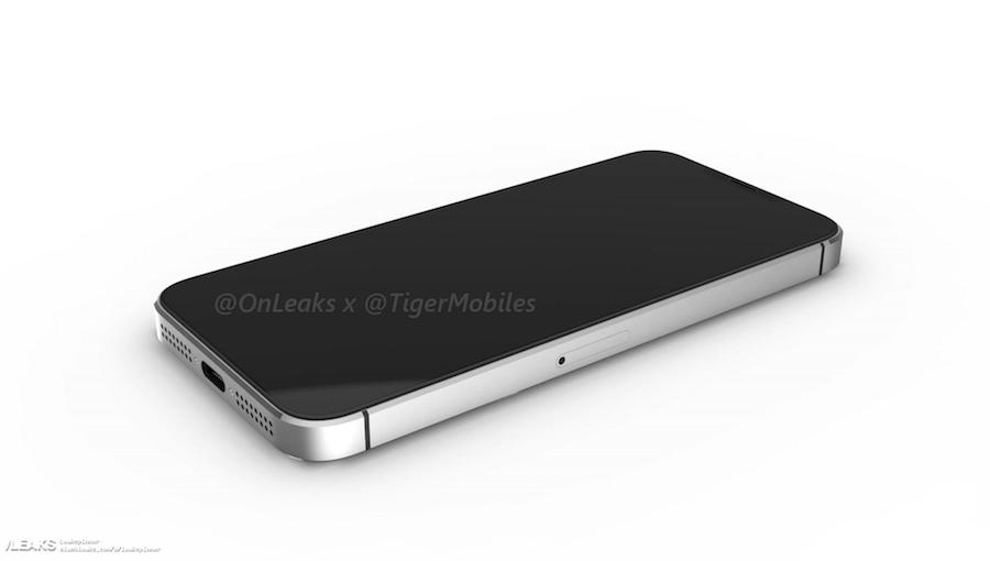 iPhone SE 2 3D renders 3
