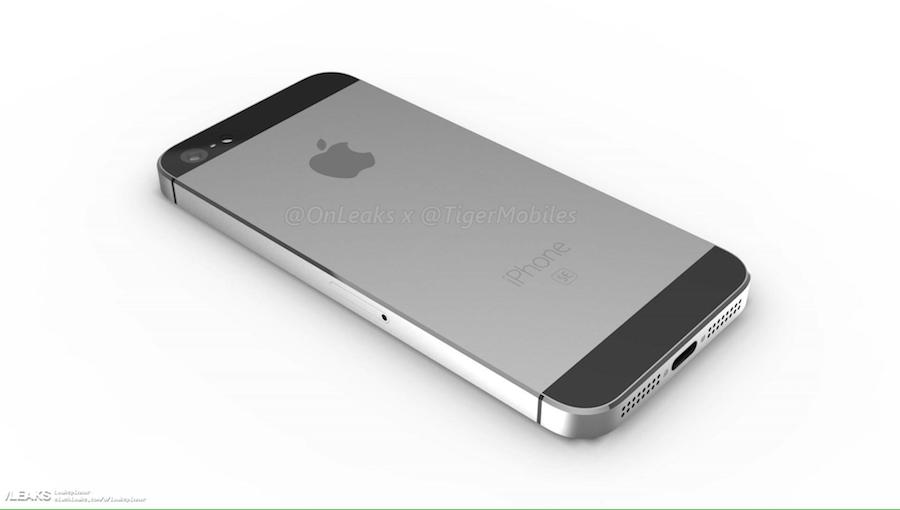 iPhone SE 2 3D renders 4
