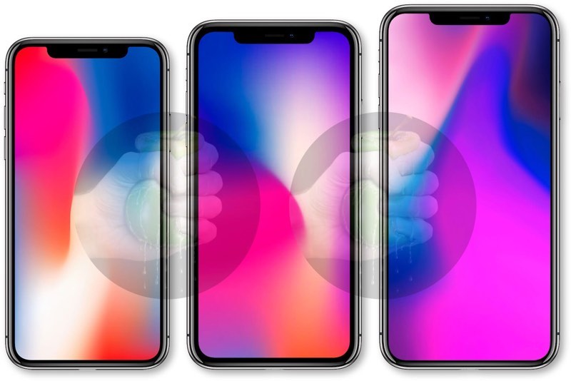 OLED iPhone X : Plus + LED iPhone 6.1''