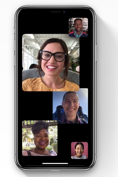 iOS 12 - FaceTime with up to 32 people at once