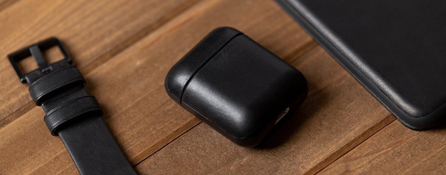 NOMAD leather case for AirPods 1