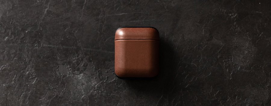 NOMAD leather case for AirPods 3