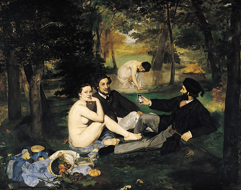 luncheon after the luncheon on the grass by édouard manet 1862–1863