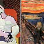 music for dreaming after the dream by pablo picasso 1932 and the scream by edvard munch 1893