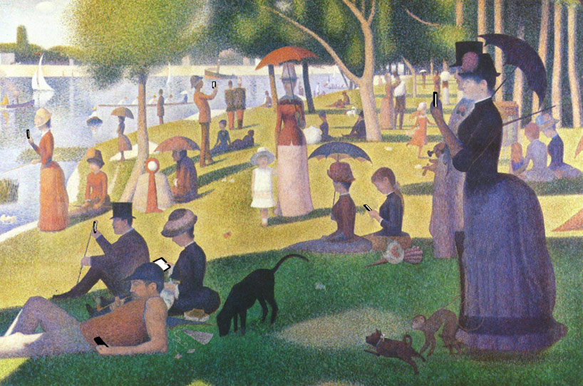 sunday afternoon after a sunday afternoon on the island of la grande by jattegeorges-pierre seurat 1884–1886