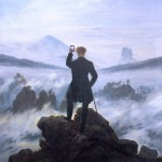 when you see the amazing sight after wanderer above the sea of fog by caspar david friedrich 1818