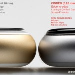 Cinder 3D curved tempered glass screen protector 3