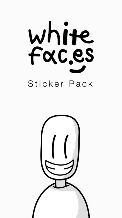 whitefaces-imessages-stickers-pack